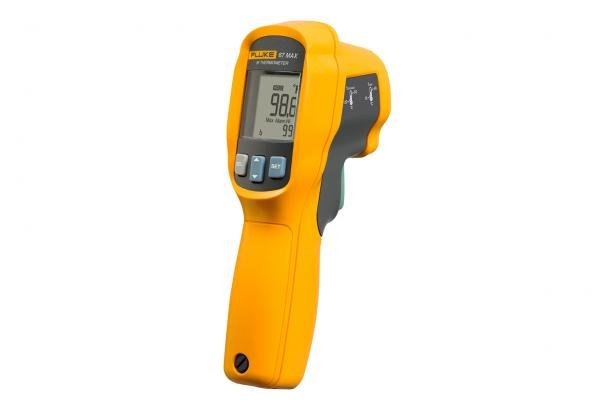 67 MAX Clinical Infrared Thermometer Angle