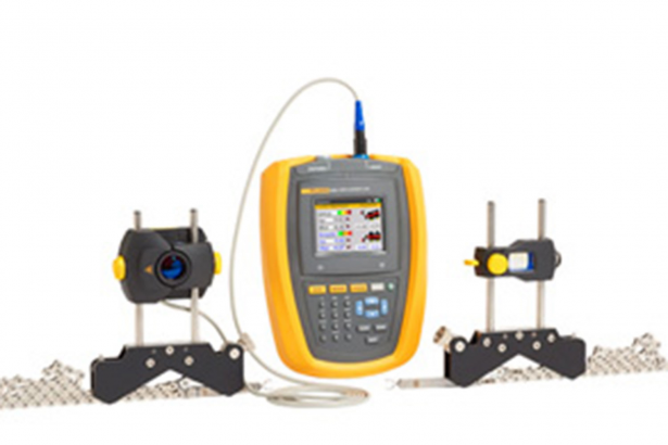 Fluke laser shaft alignment tool with cable