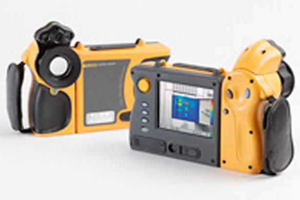Fluke Ti40FT and Ti45FT IR FlexCam® Thermal Imagers with IR-Fusion® Technology