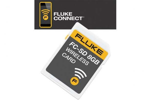 Carte SD Sans Fil Fluke Connect® | Fluke