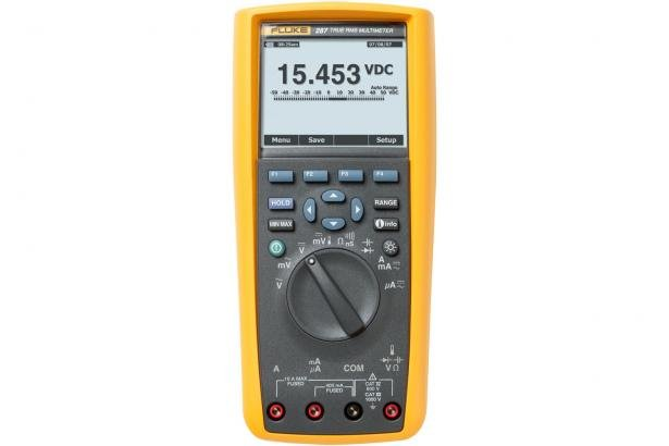 Fluke 287 True-RMS Electronics Logging Multimeter | Fluke