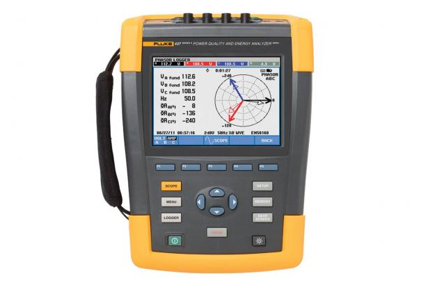Fluke 437, Serie II 400 Hz Power Quality- En Energieanalyzer | Fluke