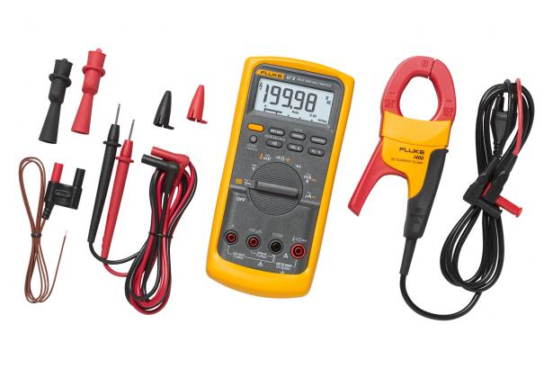 Fluke 87V Industrial Multimeter Service Kit With I400 AC Current Clamp | Fluke