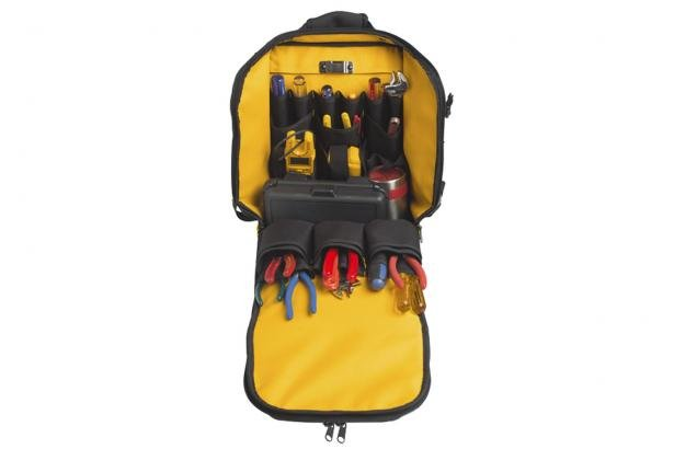 Fluke Pack30 Tool Backpack Open Compartment