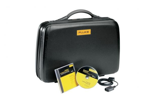 Fluke SCC190 Carrying Case, FlukeView Software & Optically Isolated USB-Cable | Fluke