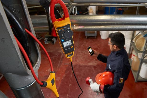 True-RMS Clamp Meter | Fluke 376 FC AC/DC With IFlex | Fluke