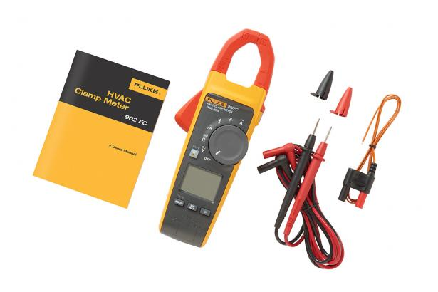 HVAC Clamp Meters | Fluke 902 FC True-RMS HVAC Clamp Meter | Fluke