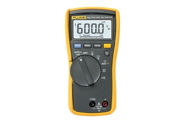 Electricians's Multimeter: Fluke 114 Electrical Multimeter | Fluke