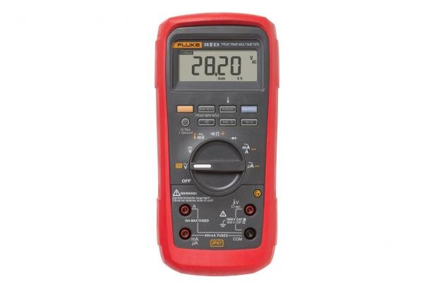 Fluke 28 II Ex Intrinsically Safe True RMS Digital Multimeter | Fluke