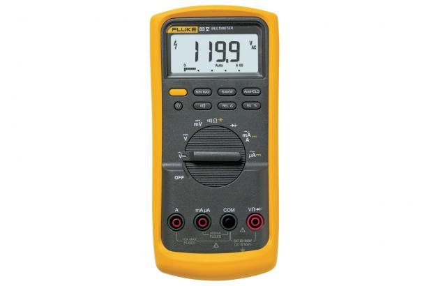 Fluke 83V Average Responding Industrial Multimeter | Fluke