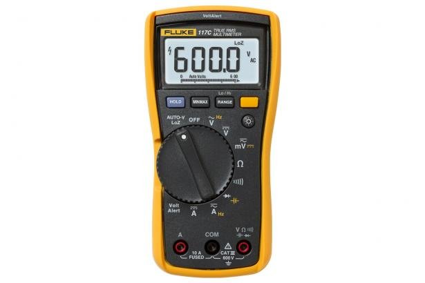 Fluke 117 Multimeter For Elektrikere Med Kontaktfri Spennings Deteksjon | Fluke