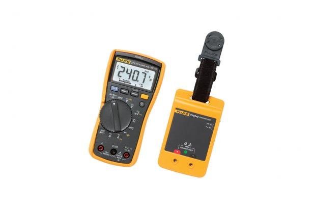 Fluke 117 DMM / PRV240 Proving Unit Kit | Fluke
