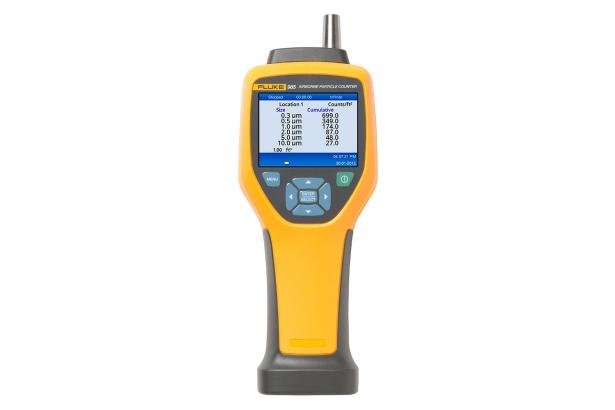 Fluke 985 Particle Counter: HVAC + IAQ | Fluke