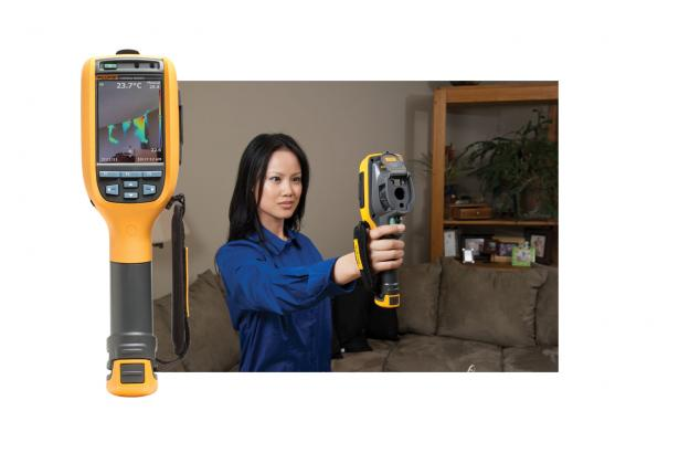Fluke TiR125 Building Diagnostic Thermal Imager | Fluke