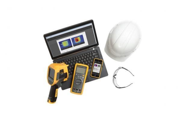 Fluke TiR110 Building Diagnostic Infrared Camera | Fluke