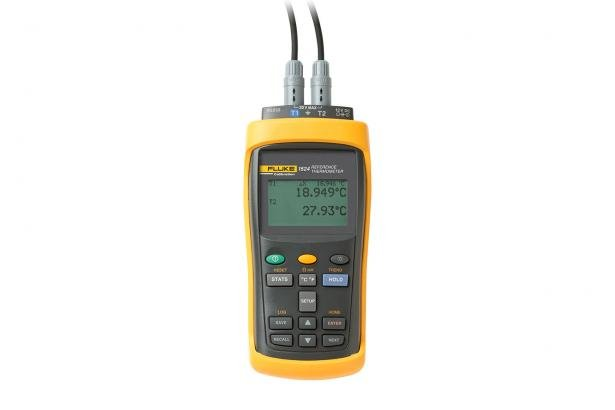 Fluke Calibration 1523 Handheld Thermometer Readout