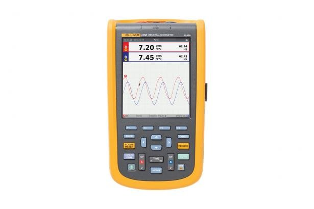 Fluke 120B Series Industrial ScopeMeter® Hand-Held Oscilloscopes