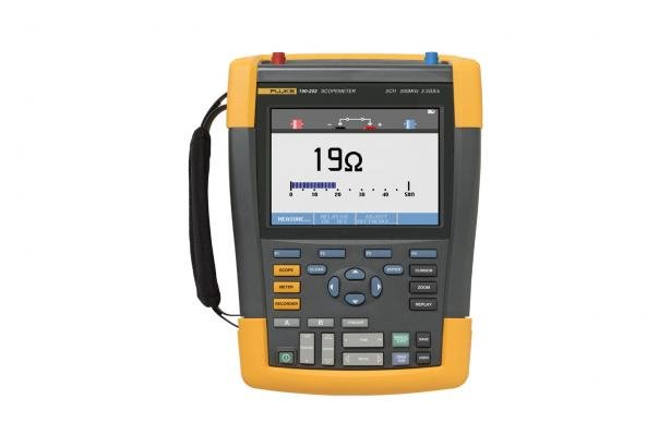 Fluke-190-202/S цветной осциллограф Color ScopeMeter® | Fluke