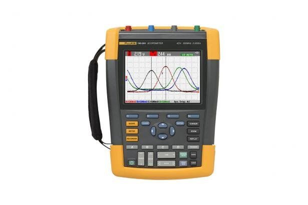 Fluke ScopeMeter 190-204/S Portable Digital Oscilloscope | Fluke