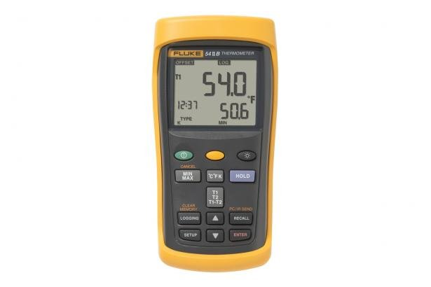 Data Logging Thermometer | Fluke 54 II Digital Thermometer | Fluke