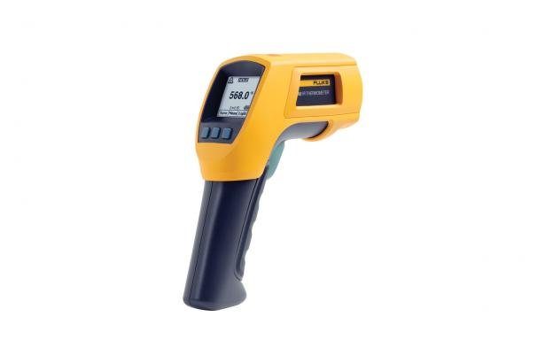 568 Contact & Infrared Temp Gun | Fluke