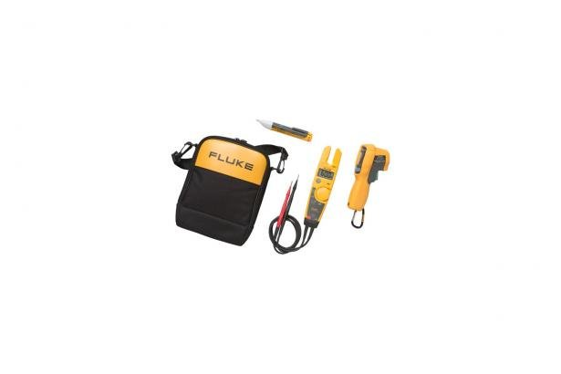 Fluke T5-600/62MAX+/1AC II IR Thermometer, Electrical Tester And Voltage Detector Kit | Fluke