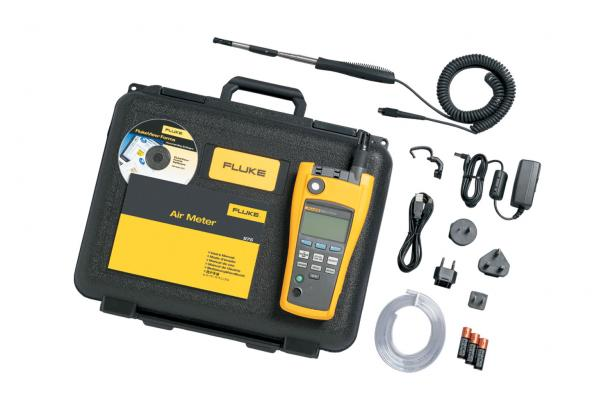 Fluke 975V AirMeter™ With Velocity Probe | Air Quality Meter | Fluke