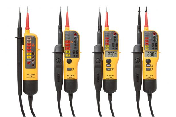 Fluke Two-Pole Voltage and Continuity Testers. Rugged. Reliable. Accurate.