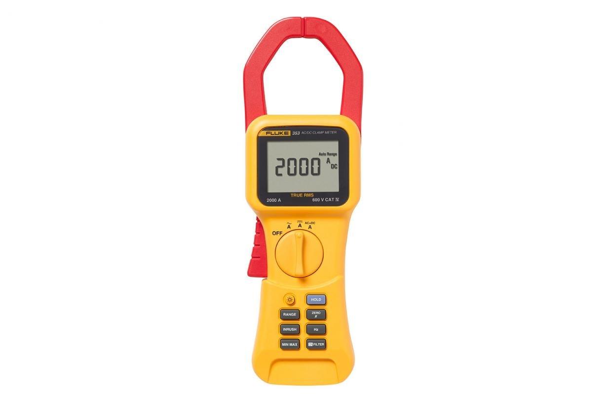 Fluke FLUKE-353 600 VAC 1000 VDC 2000 Amp AC/DC Clamp Meter