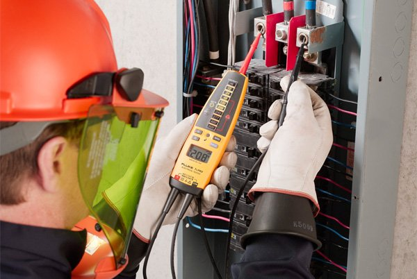 Wiggy Voltage Tester Leads : Fluke t pro electrical tester