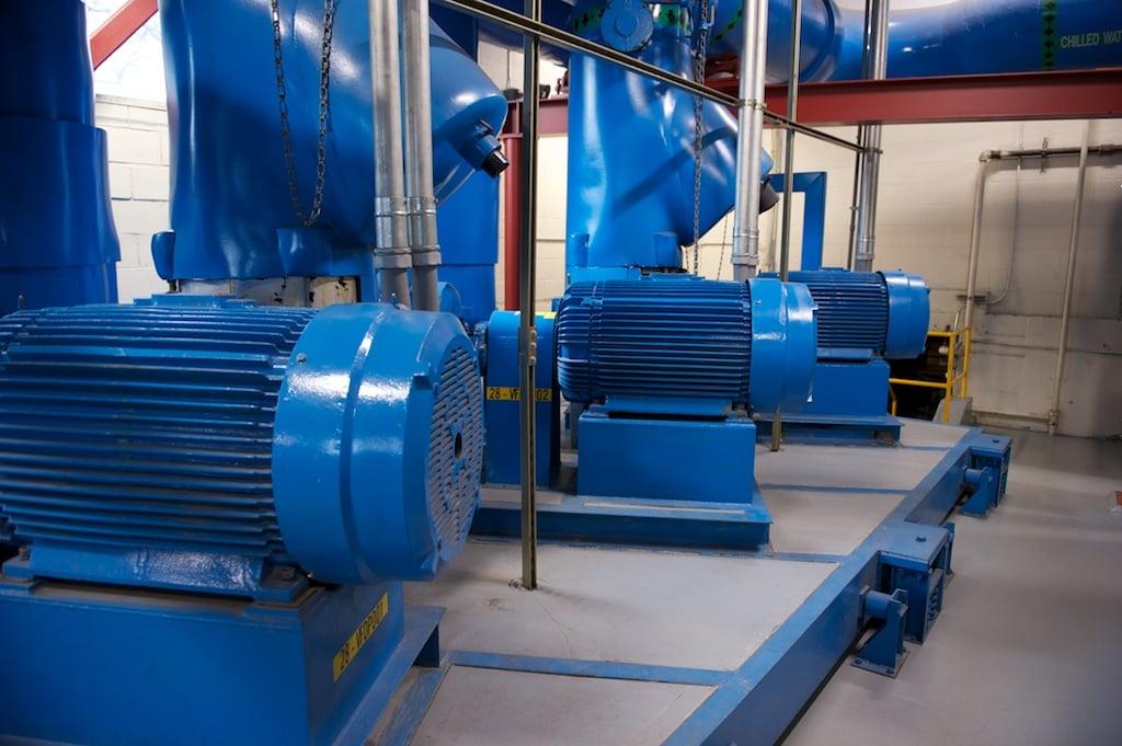 Группа двигателей для системы ОВКВ