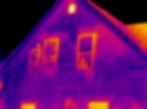 The blurriness of the image makes it more difficult for a client to identify thermal anomalies