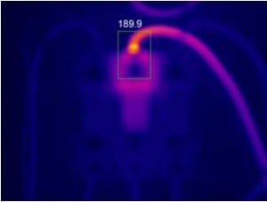 Inaccurate Temperature Displayed on an Unfocused Thermal Image of An Electrical Component