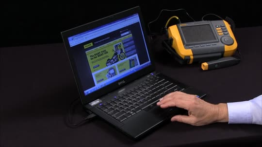 How to Use the Fluke 810 Software